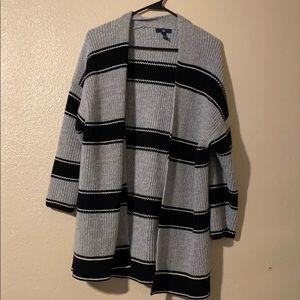 NWOT Gap 3/4 Sleeve Woven Cardigan